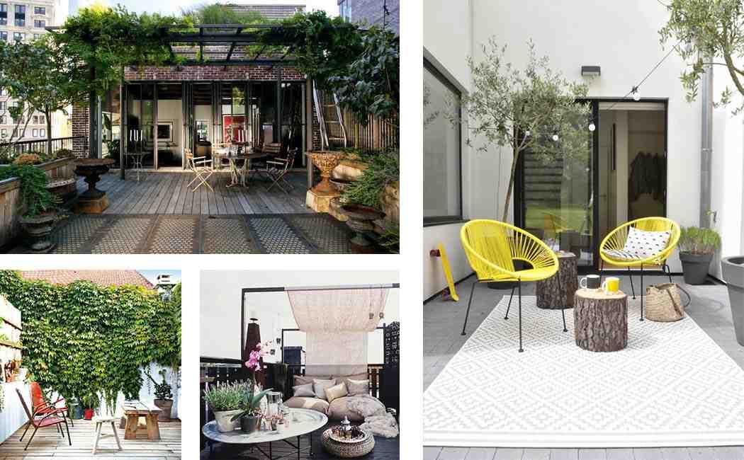 Comment aménager une petite terrasse extérieure ?