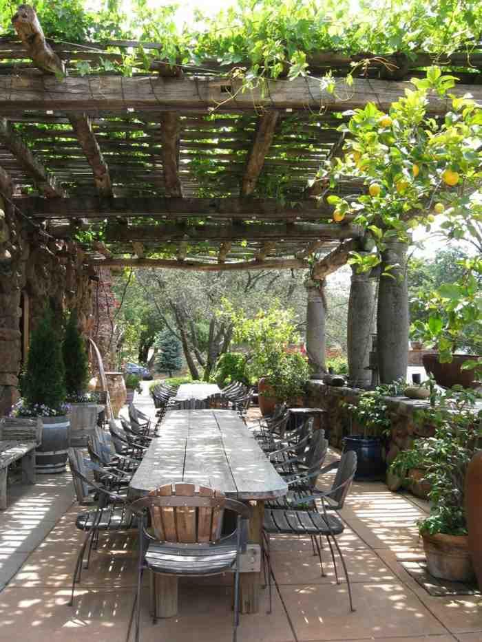 Comment décorer une terrasse de jardin ?