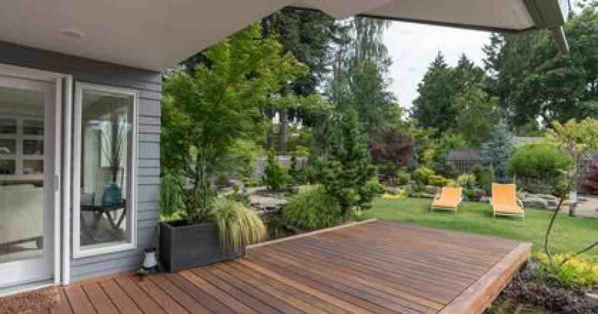 Comment décorer une terrasse en béton ?