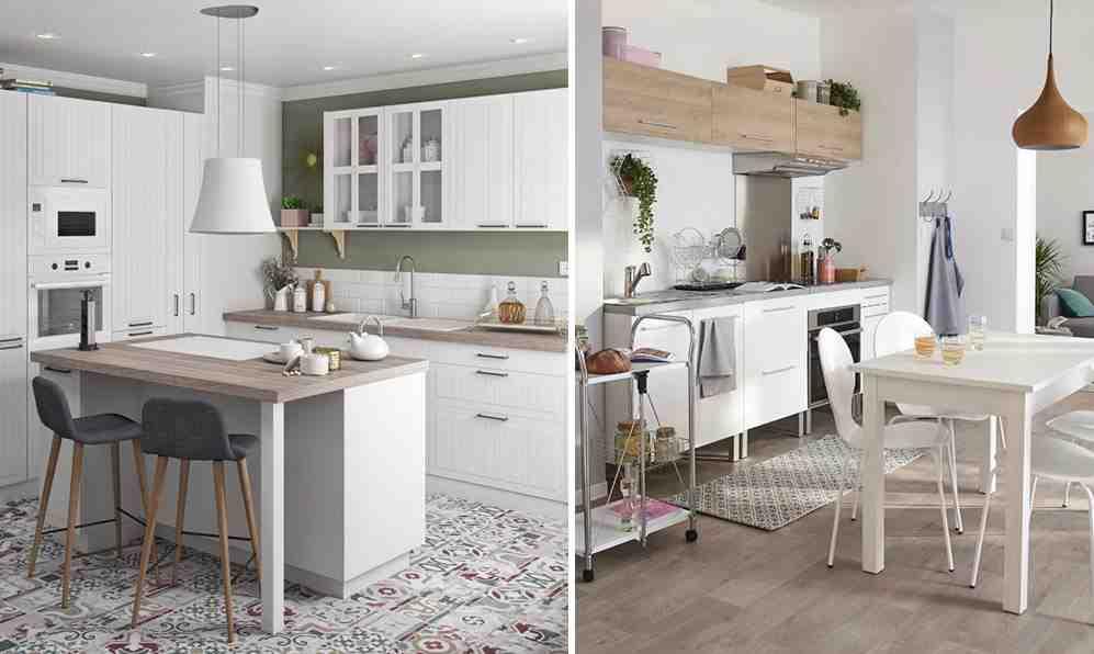 Quel couleur de carrelage avec une cuisine blanche ?