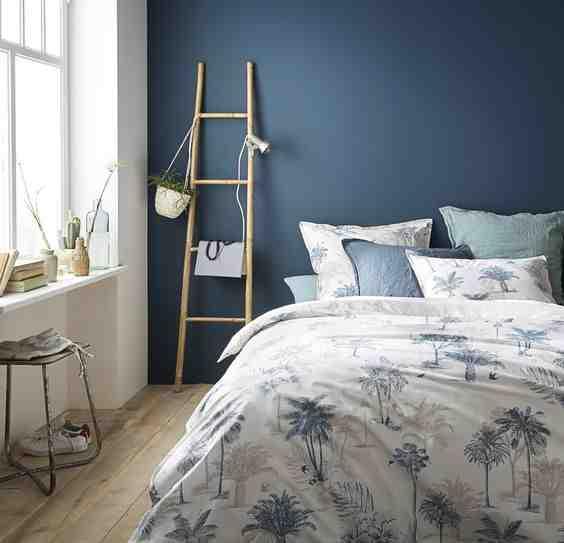 Quel mur de couleur dans une chambre ?