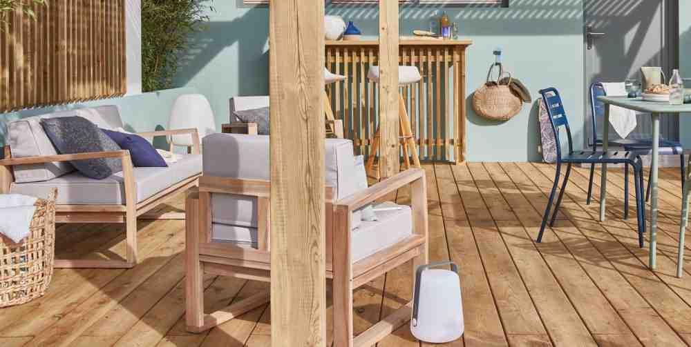 Quel revêtement sur une terrasse en béton ?