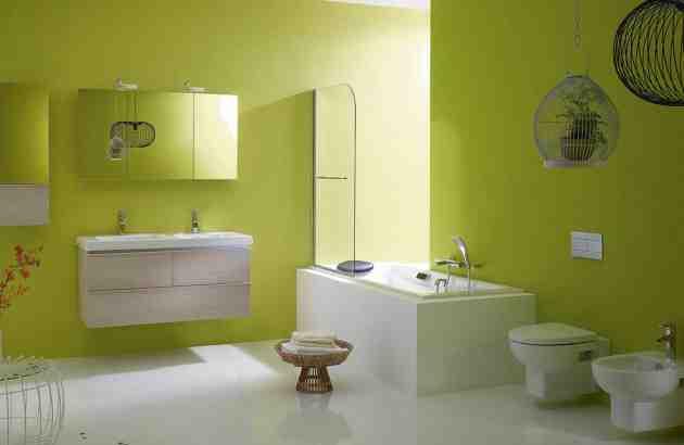 Quelle couleur dans une petite salle de bain ?