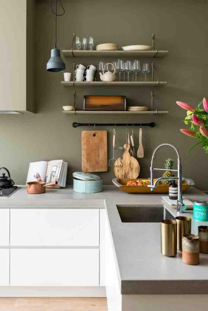 Quelle couleur de papier peint pour une cuisine ?