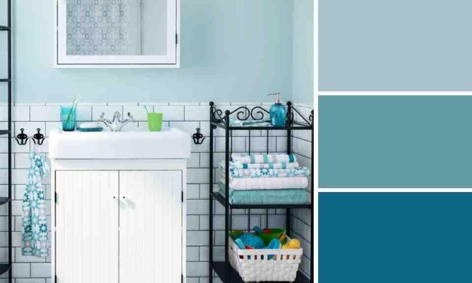Quelle couleur eviter dans une salle de bain ?